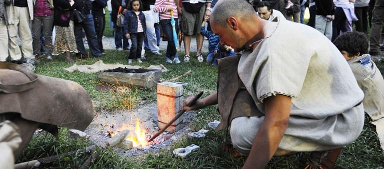 Experimental activities: smelting bronze