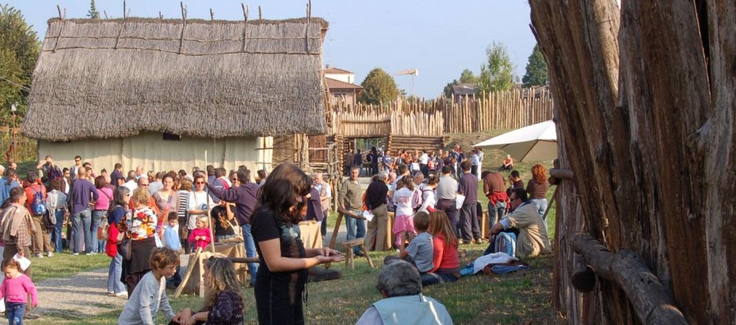 Il pubblico del parco